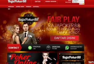 Kabar Gembira Yang Diberikan Dari Rajapoker88 Agen Poker Online Terpercaya & Terbaik Di Indonesia