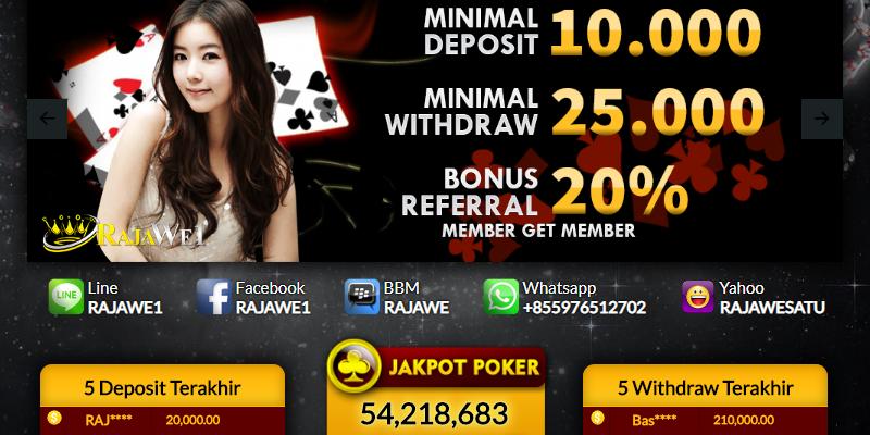 Rajawe1 Situs Poker Online Terpercaya di Indonesia