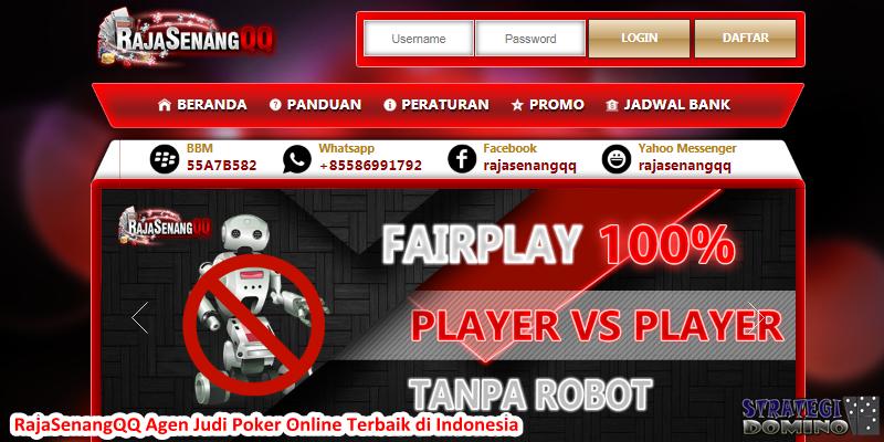 RajaSenangQQ Agen Judi Poker Online Terbaik di Indonesia